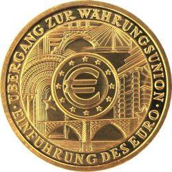 200 евро, Германия (Введение евро)