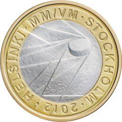 5 евро, Финляндия (Чемпионат мира по хоккею по шайбой 2012)