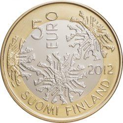 5 евро, Финляндия (Флора)
