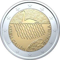 2 евро, Финляндия (150 лет со дня рождения Аксели Галлен-Каллела)