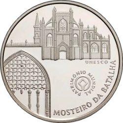 5 евро, Португалия (Монастырь в Баталье)