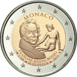 2 евро, Монако (250 лет со дня рождения Франсуа Жозефа Бозио)