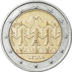 2 евро, Литва (Литовский Праздник песни и танца)