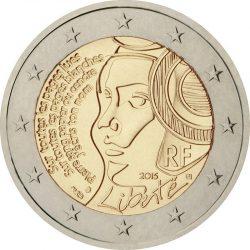 2 евро, Франция (225-летие Фестиваля Федерации), аверс