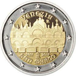 2 евро, Италия (400-летие завершения строительства собора Святого Марка в Венеции)