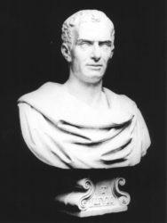 Бюст Тита Ливия работы Лоренцо Ларезе Моретти (XIX в., Палаццо Лоредан, Венеция)
