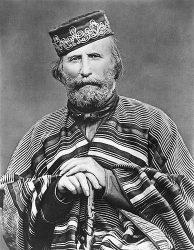 Народный герой Италии Джузеппе Гарибальди (фото 1866 г.)