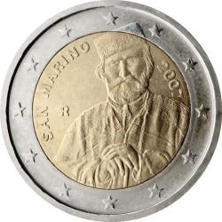 2 евро, Сан-Марино (Джузеппе Гарибальди)