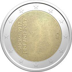 2 евро, Финляндия (100-летие независимости Финляндии)