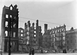 Руины Метрополь-Отеля