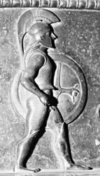 Древнегреческий пехотинец - гоплит