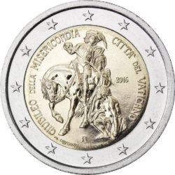 2 евро, Ватикан (Юбилейный год милосердия)