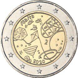2 евро, Мальта (Детские игры)