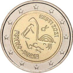 2 евро, Эстония (Финно-угорские народы)