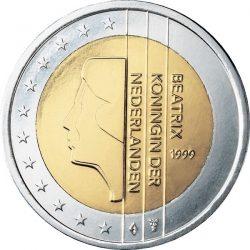 2 евро, Нидерланды (тип 1)