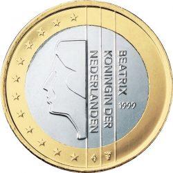 1 евро, Нидерланды (тип 1)