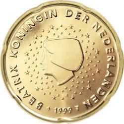 20 евроцентов, Нидерланды (тип 1)