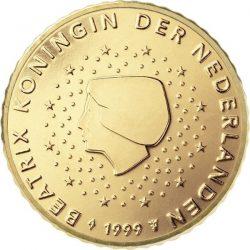 10 евроцентов, Нидерланды (тип 1)
