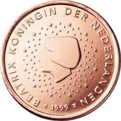5 евроцентов, Нидерланды (тип 1)