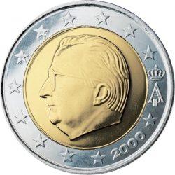 2 евро, Бельгия (тип 1)