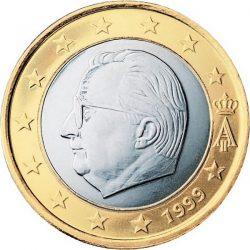 1 евро, Бельгия (тип 1)
