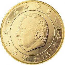 50 евроцентов, Бельгия (тип 1)