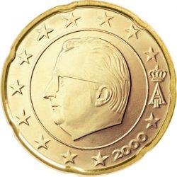 20 евроцентов, Бельгия (тип 1)