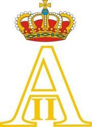 Личная монограмма короля бельгийцев Альберта II