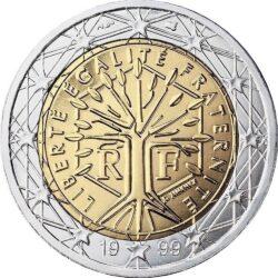 2 евро, Франция