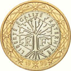1 евро, Франция