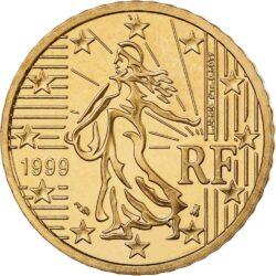 10 евроцентов, Франция
