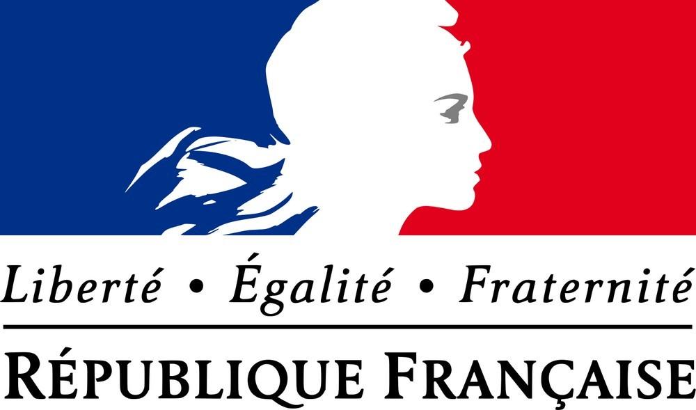 Логотип государственных учреждений Франции