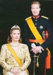 Герцог Люксембургский с супругой Терезой