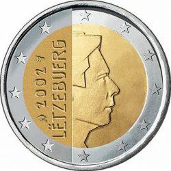 2 евро, Люксембург