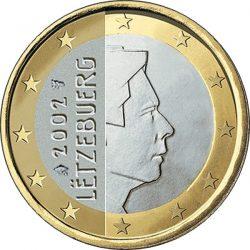 1 евро, Люксембург