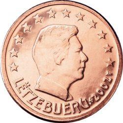 2 евроцента, Люксембург