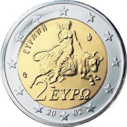 2 евро, Греция