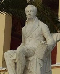 Памятник И.Каподистрии в Афинах