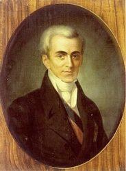 Иоаннис Каподистрия, граф, греческий государственный деятель.