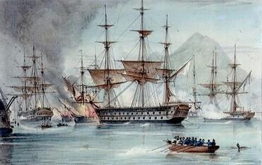 Наваринское сражение (Philip Reinagle, 1838)