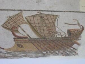 Триера (мозаика, Тунис)