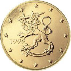 50 евроцентов, Финляндия (тип 1)