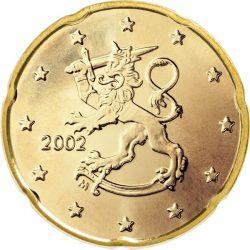 20 евроцентов, Финляндия (тип 1)