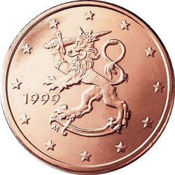 5 евроцентов, Финляндия (тип 1)