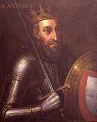 Афонсу I Великий, первый король Португалии,