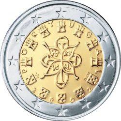 2 евро, Португалия