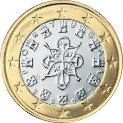 1 евро, Португалия