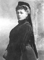 Берта фон Зутнер, австрийская писательница