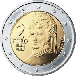 2 евро, Австрия, аверс