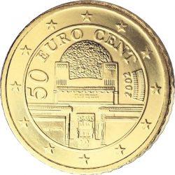 50 евроцентов, Австрия, аверс